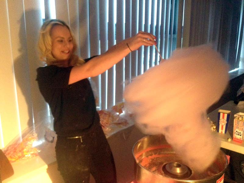 Candy Floss Machine Hire Service