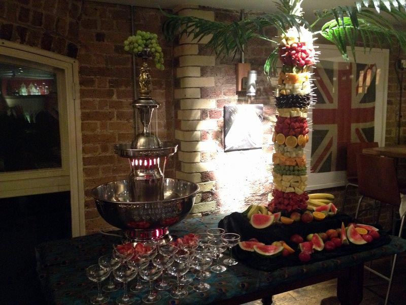 Champagne Fountain Hire Service