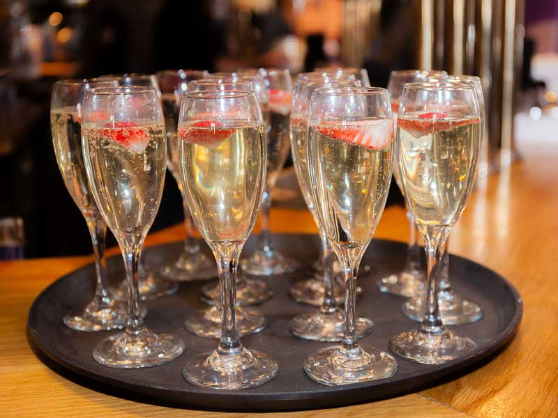 Champagne Fountains Essex