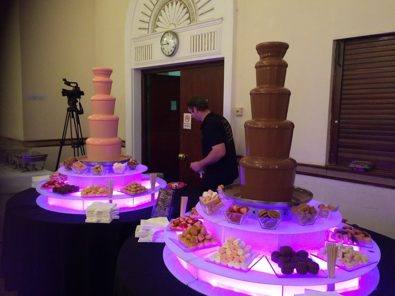 Our Chocolate Fountain Hire Information
