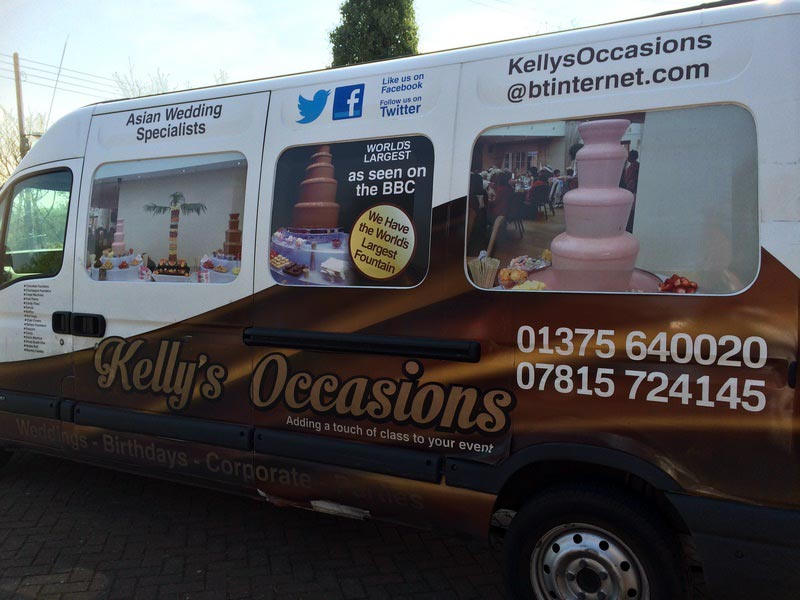 Kellys Occasions Chocolate Fountains Essex