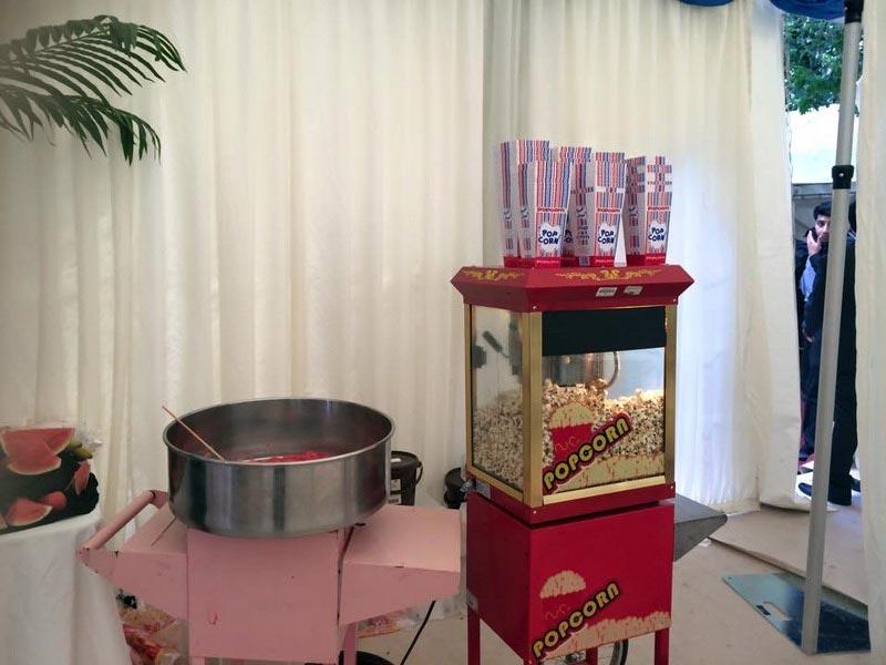 Popcorn Stand Hire Service