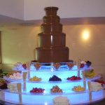 The World's Largest Chocolate Fountain Hire
