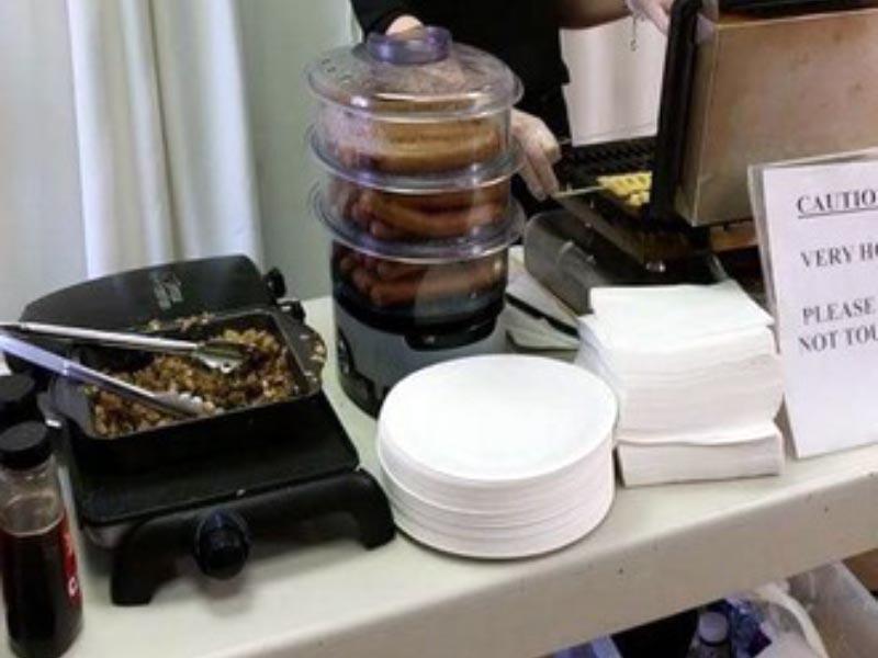 Waffle Machine Hire Service